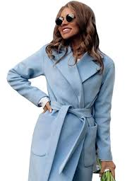 Mens Light Blue Peacoat Amazon Com Women Fashion Peacoat Winter Outdoor Wool