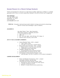Resume Template For High School Student Internship Free Download
