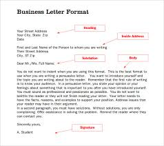 Formal Letter Heading Format Formal Letter Writing Pdf Job Application Letter Format