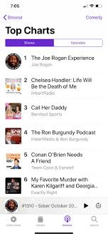 Comedy Podcast Charts Hey Can Anybody Find The Podcast On Itunes Charts Anymore I