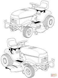 Ausmalbild Rasenm Her Traktoren Ausmalbilder Kostenlos Zum