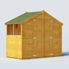 billyoh 4 x 8 windowed tongue and groove apex garden shed 4000 range shedsdirect co uk