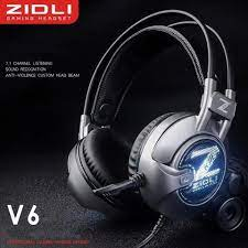 Tai nghe Zidli V6 7.1 USB White Led