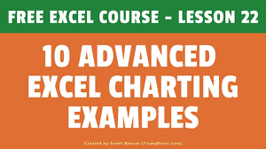 Excel Chart Tutorial Youtube 10 Advanced Excel Charts And Graphs Creating From Scratch Free Excel Course