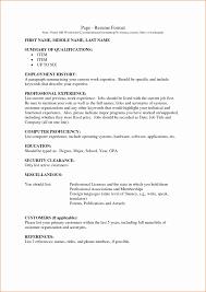 Last Page Of Resume Resume Online Builder