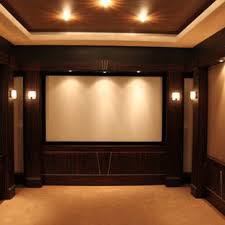 home theatre lighting design. Example Of A Large Transitional Enclosed Carpeted And Beige Floor Home  Theater Design In Detroit With Theatre Lighting