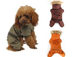 free dog clothes winter warm clothing for pet the corners of fur collar jacket durable dog winter coat apparel