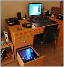 small office setup. Marvelous Gaming PC Desk Setup Coolest Small Office Design Ideas With Pc Setuphome E