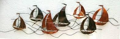 metal wall art sailing boats 4 steps with pictures with sailboat metal on metal wall art sailing yachts with 20 inspirations sailboat metal wall art wall art ideas