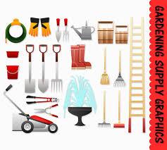 clip art graphics supply tools garden sbook