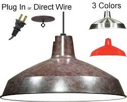 outdoor breathtaking plug in swag lamps chandeliers 9 industrial pendant lights 3 colors amusing plug in