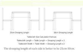 table runner length table runner length rectangular table runner length for round table