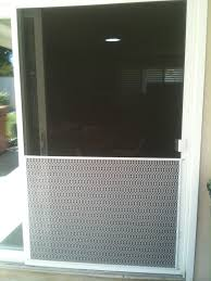 white pet door for 48 sliding screen door