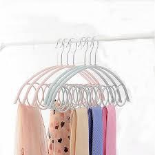 hoomall closet organizer clothes hanger holder neck tie belts with regard to idea 12