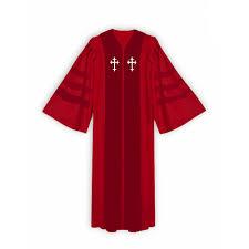 Choir Robe Size Chart Triple Band Choir Robe With Straight Sleeve