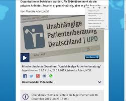 patientenhilfe unabhängige patientenberatung deutschland