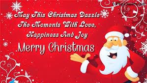 merry christmas eve saying card 2017