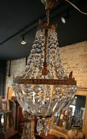 well known vintage style chandeliers within french vintage empire style crystal chandelier with regard to