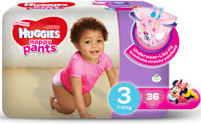 huggies size 7 huggies nappy pants for girls size 3 7 12kg 68s