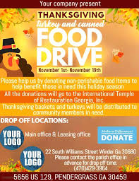 Donation Flyer Template Simple Design Templates For Food Drive Free Holiday Flyer Template Meaning