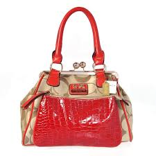 coach  fashion  loveit Coach Madison Pinnacle Carrie Medium Red Satchels  BXB Is The