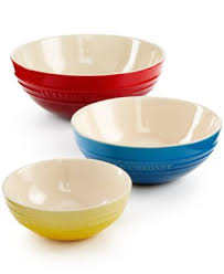 le creuset mixing bowls. Brilliant Bowls Le Creuset Enameled Bowl Collection  Serveware Dining U0026 Entertaining  Macyu0027s Intended Mixing Bowls R