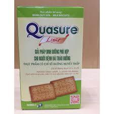 Bánh Quy Sữa Cho Người Tiểu Đường Quasure Light 140g, Giá tháng 12/2020