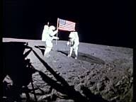 Image result for Shepard and Mitchell  on the moon