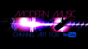 youtube channel art music. Brilliant Art Modern Music Channel Art Template For YouTube Photoshop PSD And Youtube O