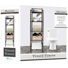 modular bathroom furniture rotating cabinet vibe. 5 TIER TOWEL TWR X TOP BRZ Modular Bathroom Furniture Rotating Cabinet Vibe