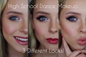 high dance makeup three diffe looks cosmobyhaley you