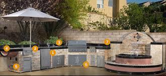 E Outdoor Kitchens  BBQ Islands Entertainment Designs Custom  Kitchen Orange County