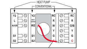 how to add a c wire an old lennox system home improvement with blue wire thermostat at Old Thermostat Wiring Color Codes