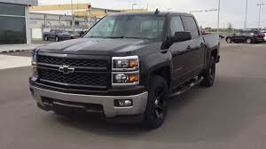 chevrolet trucks 2015 black. Interesting Black Black 2015 Chevrolet Silverado LT 1500 4WD CREW CAB Truck At Scougall  Motors  YouTube Intended Trucks