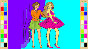 Small Picture Barbie Coloring Book Dress Up Coloring Pages Kids Fun Art