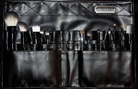 e l f studio makeup artist brush belt professional makeup artist brush set