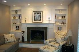 fireplace with bookshelves on each side fireplace side bookshelves