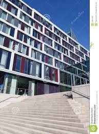 office facade. building city facade modern office