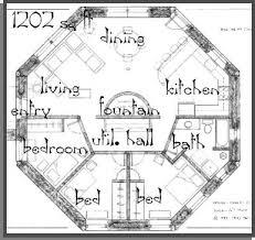 octagon house plans. Octagon House Plans A