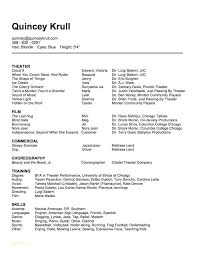 Dance Instructor Resume Cool Dance Resume Examples Letsdeliverco