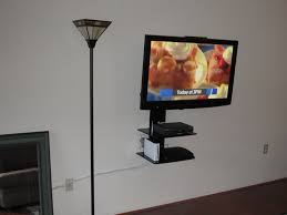 fairfield ct tv installation on wall with shelf img 1166