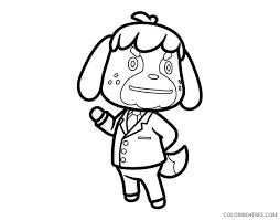 Fuzzy has hundreds of printable animal coloring pages! Animal Crossing Coloring Pages Printable Coloring4free Coloring4free Com
