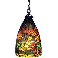 glass shades for hanging lights formidable awesome vintage leaded shade light fixture green stained home design ideas 31