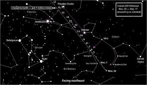 A Comet To Warm A Winters Night How To See 46p Wirtanen