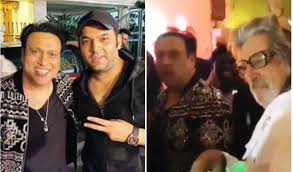 What song was #1 on your birth date? Govinda Burns The Dance Floor To Coolie No 1 Song At Birthday Bash Shakti Kapoor Joins Him Watch Video Entertainment News Hindustan Times