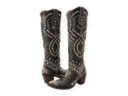 Sale Women Boots Old Gringo Belinda Blackbeige Authentic