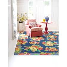 rose tufted rug cabbage roses hand tufted navy area rug rose tufted rug 8x10 ivory