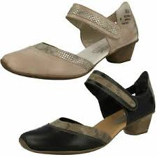 Rieker Size Chart Us Details About Ladies Rieker Antistress Leather Casual Mary Jane Smart Heeled Shoes 49780 Size