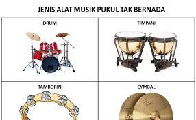 Alat musik yang dipukul tidak bernada ini digunakan untuk keteraturan irama lagu. Alat Musik Ritmis Bernada Contoh U Cute766