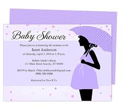 How To Make A Baby Shower Invitation On Microsoft Word